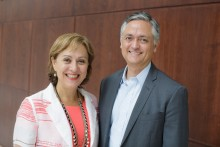 Dr. Jeanne-Marie Stacciarini and Dr. Robert Lucero