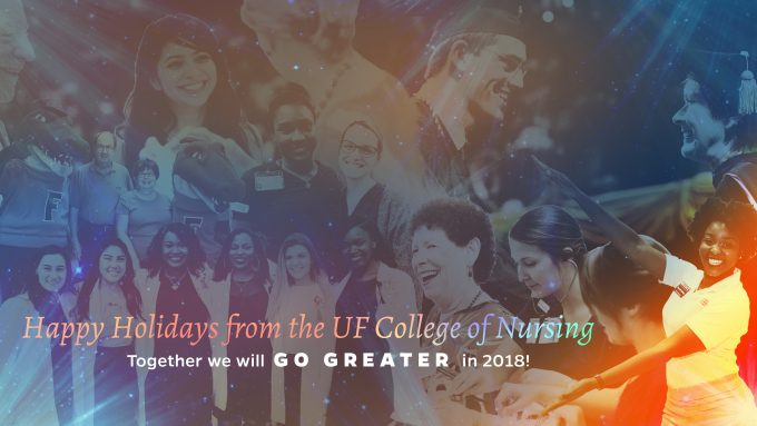 Happy Holidays from the UF College of Nursing